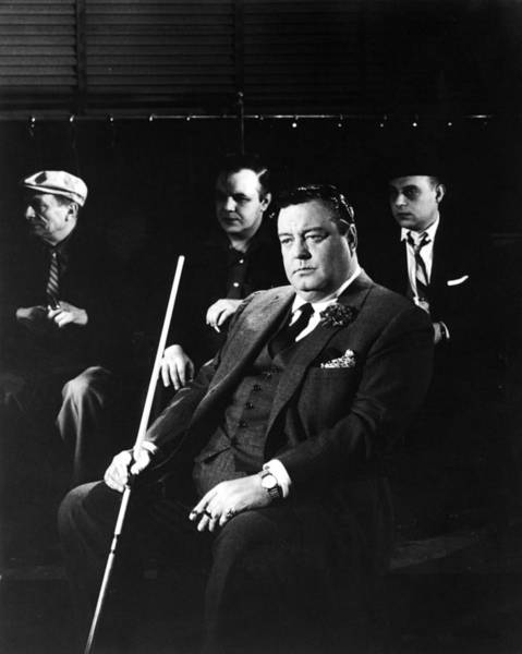 Wall Art - Photograph - Jackie Gleason In The Hustler by Silver Screen