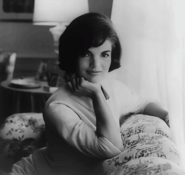 Society Digital Art - Jackie Kennedy  1961 by Daniel Hagerman