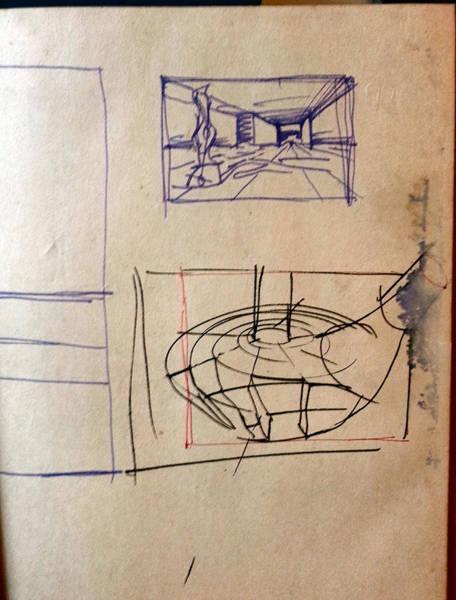 Drawing - Jackniclaus-sketchcomp 1998 by Glenn Bautista