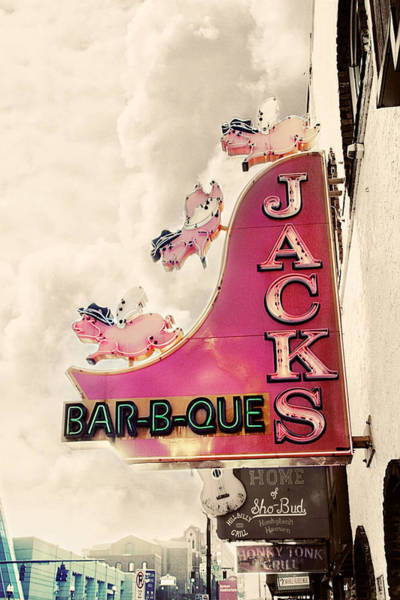 Pig Photograph - Jacks Bbq by Amy Tyler