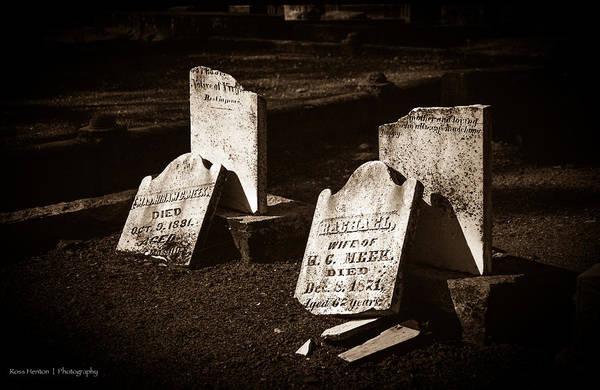 Photograph - Jackson Cemetery by Ross Henton