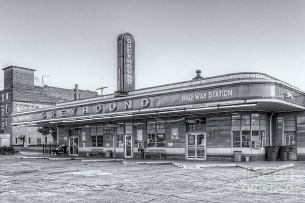 Photograph - Jackson Greyhound Bus Station Vi by Clarence Holmes