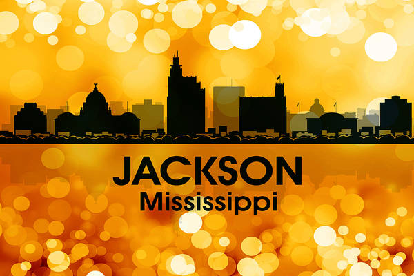 Ms Mixed Media - Jackson Ms 3 by Angelina Tamez