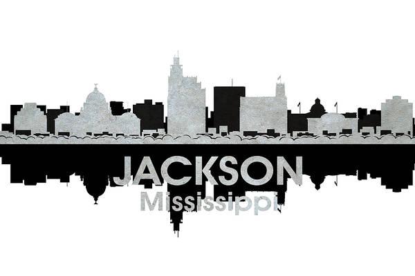 Ms Mixed Media - Jackson Ms 4 by Angelina Tamez