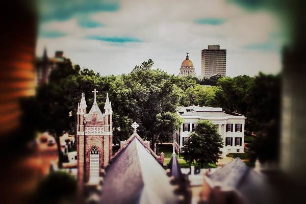 Photograph - Jackson Skyline From Electric Building by Jim Albritton