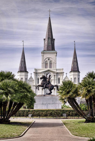 Photograph - Jackson Square by Heather Applegate