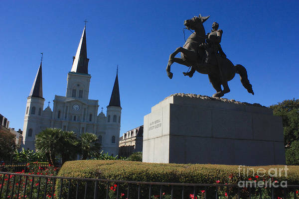 Photograph - Jackson Square In New Orleans by Carol Groenen