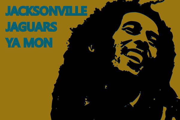 Drum Player Wall Art - Photograph - Jacksonville Jaguars Ya Mon by Joe Hamilton
