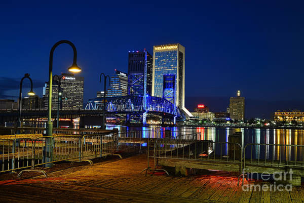 Photograph - Jacksonville Nightscape by Paul Quinn