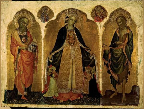 Wall Art - Photograph - Jacobello Del Fiore, Triptych by Everett