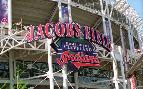 Photograph - Jacobs Field - Cleveland Indians by Frank Romeo