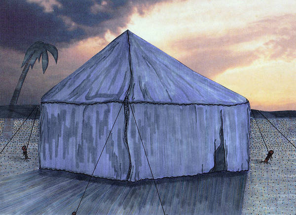 Painting - Jacob's Tent by Jason Girard
