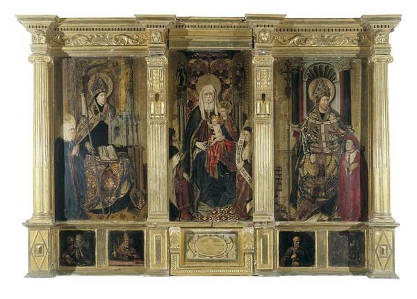 Jacomart, Jaume Ba��, Called 1410-1461 Art Print