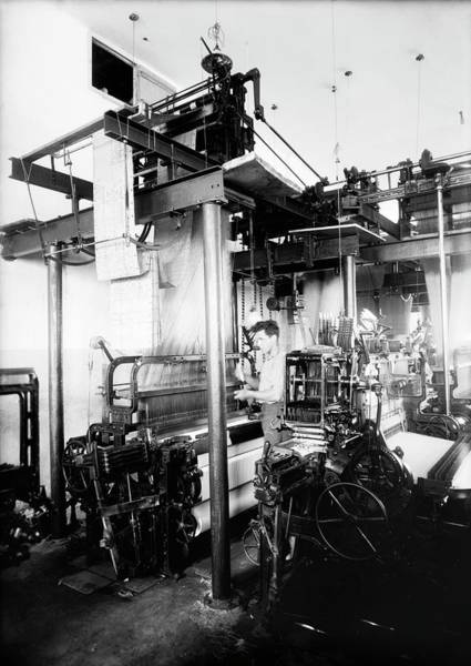 Wall Art - Photograph - Jacquard Loom In Palestine by Library Of Congress