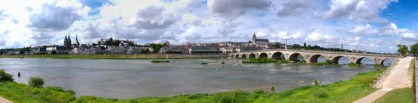 Jacques Photograph - Jacques Gabriel Bridge Over The Loire by Panoramic Images
