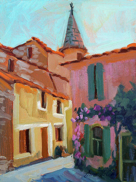 Steeple Wall Art - Painting - Jacques House by Diane McClary