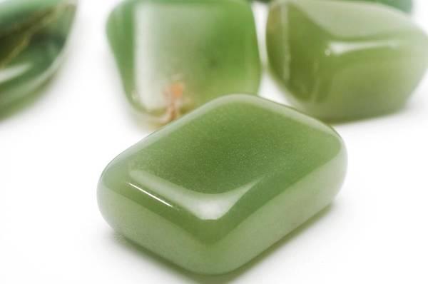 Jade Photograph - Jade Gemstones by Photostock-israel/science Photo Library