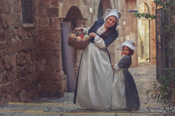Daughter Photograph - Jaffa by Evgeny Loza
