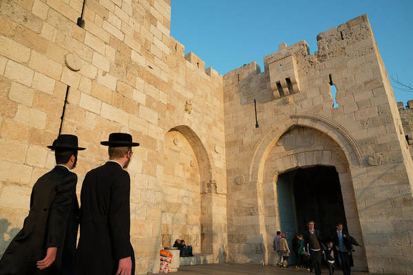 Old People Photograph - Jaffa Gate. Jerusalem Old City. Israel by Eitan Simanor