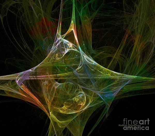 Digital Art - Jagged Edge by Kathie Chicoine
