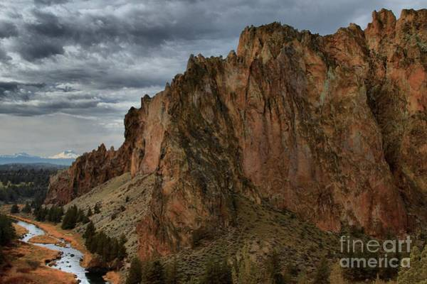 Photograph - Jagged Peaks At Smith Rock by Adam Jewell
