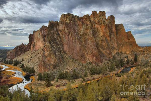 Photograph - Jagged Rocks And Crooked Rivers by Adam Jewell