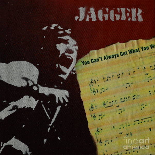 Jagger Art Print