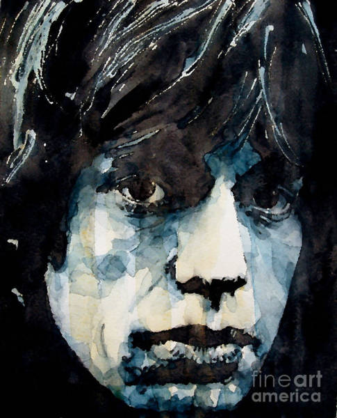 Wall Art - Painting - Jagger No3 by Paul Lovering