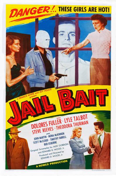 Wall Art - Photograph - Jail Bait, Lyle Talbot Bottom Left by Everett