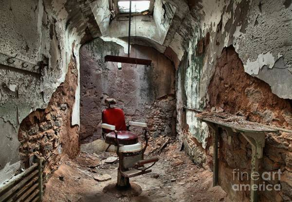 Photograph - Jail Cell Barber by Adam Jewell