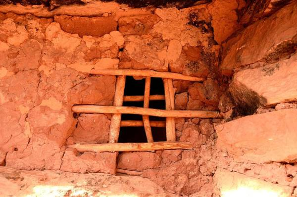Photograph - Jailhouse Ruin Window by Tranquil Light  Photography