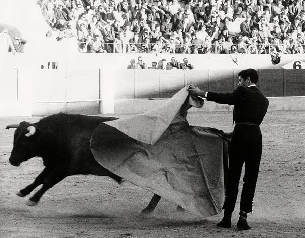 Sports Uniform Photograph - Jaime Ostos Bullfighting by Henry Clarke