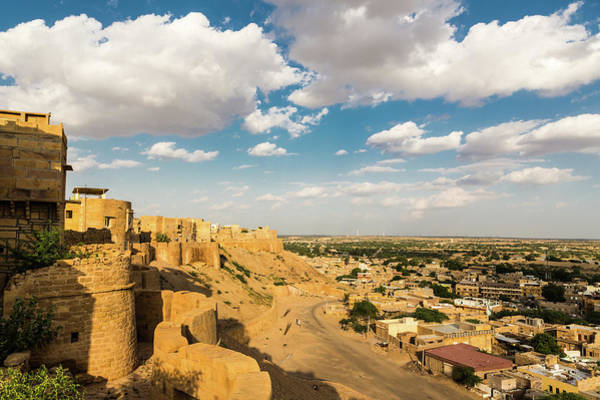 Fortified Wall Art - Photograph - Jaisalmer Fort by @ Didier Marti
