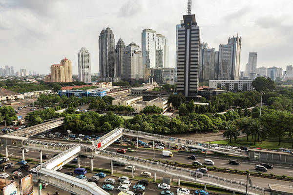 Jakarta Photograph - Jakarta Central Business District by @ Didier Marti