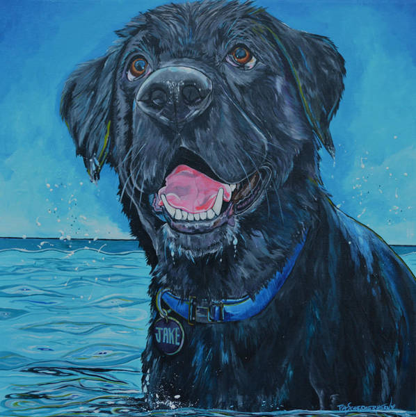 Painting - Jake by Patti Schermerhorn