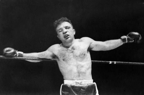 Wall Art - Photograph - Jake raging Bull Lamotta by Underwood Archives