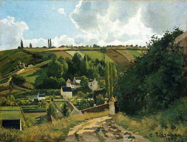 Wall Art - Painting - Jalais Hill. Pontoise by Camille Pissarro