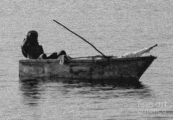Digital Art - Jamaican Fisherman In Ocho Rios Jamaica by Kenneth Montgomery