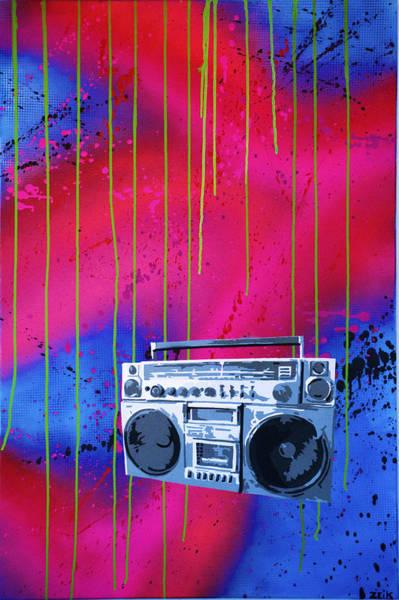 Wall Art - Painting - Jamboxxx by Bobby Zeik