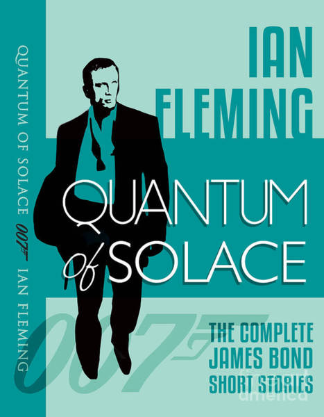 Quantum Digital Art - James Bond Book Cover Movie Poster Art 4 by Nishanth Gopinathan