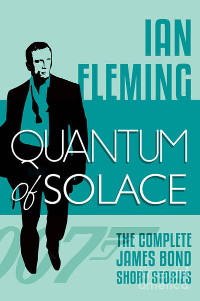 Quantum Digital Art - James Bond Book Cover Movie Poster Art 5 by Nishanth Gopinathan