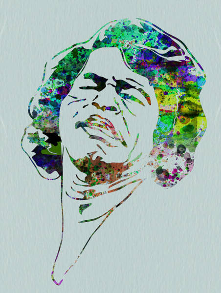 Ireland Painting - James Brown by Naxart Studio