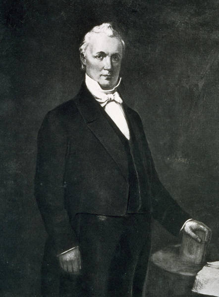 James Buchanan Art Print