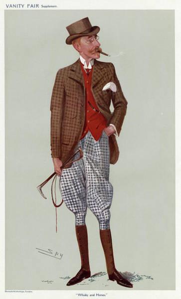 James Buchanan, Whisky Distiller Art Print