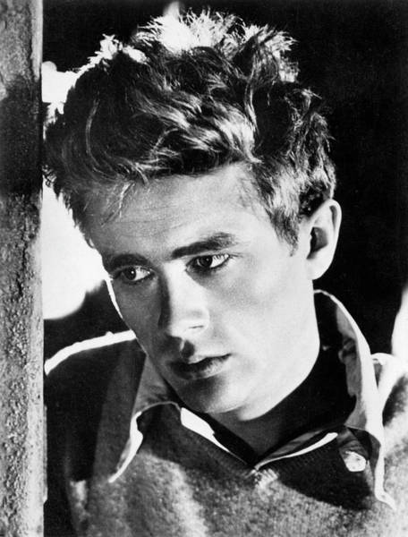 Wall Art - Photograph - James Dean  American Film Actor by Mary Evans Picture Library