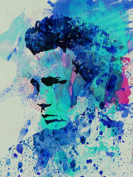 Wall Art - Painting - James Dean by Naxart Studio