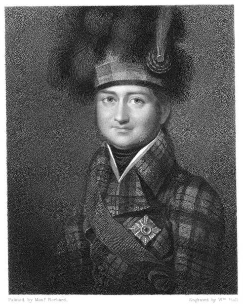 Fife Painting - James Duff (1776-1857) by Granger