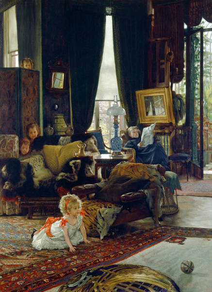 Seek Painting - James Jacques Joseph Tissot French, 1836 - 1902 by Quint Lox