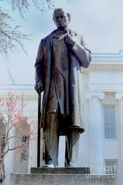 Photograph - James Marion Sims Alabama State Capitol by Lesa Fine
