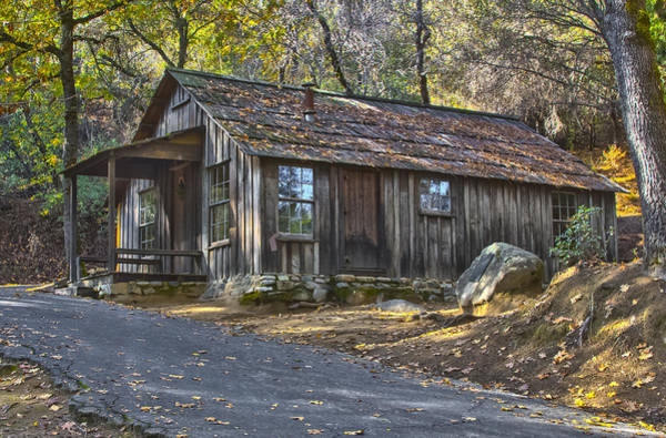 Photograph - James Marshall Cabin by Wes Jimerson